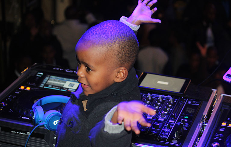 Youngest club DJ