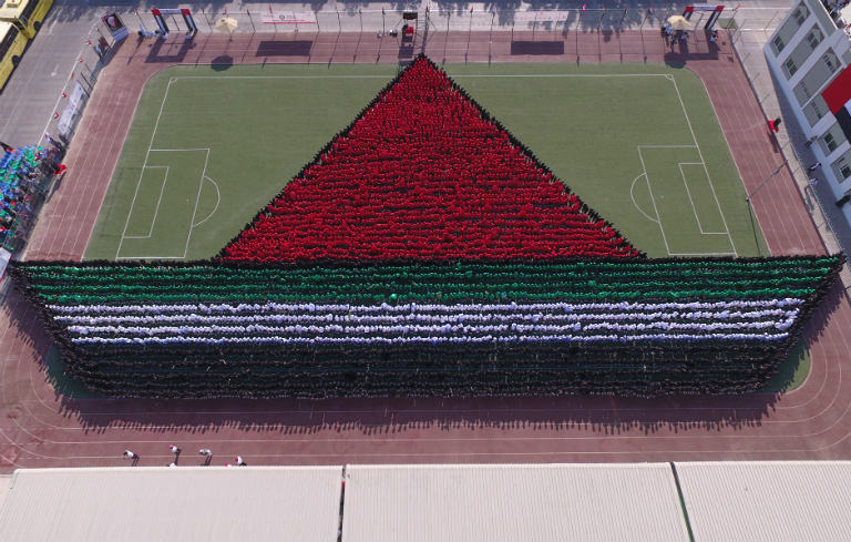 Largest human image of a boat
