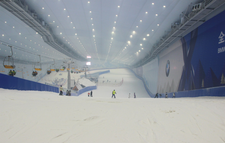 Largest indoor ski facility