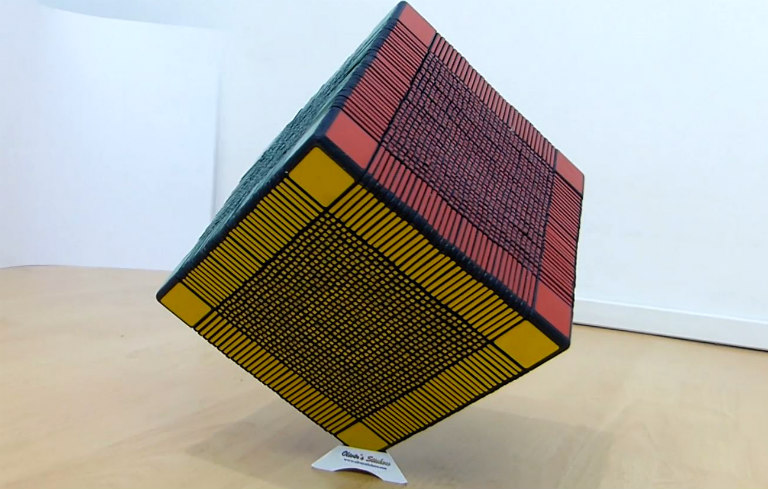 Largest order Rubiks / magic cube