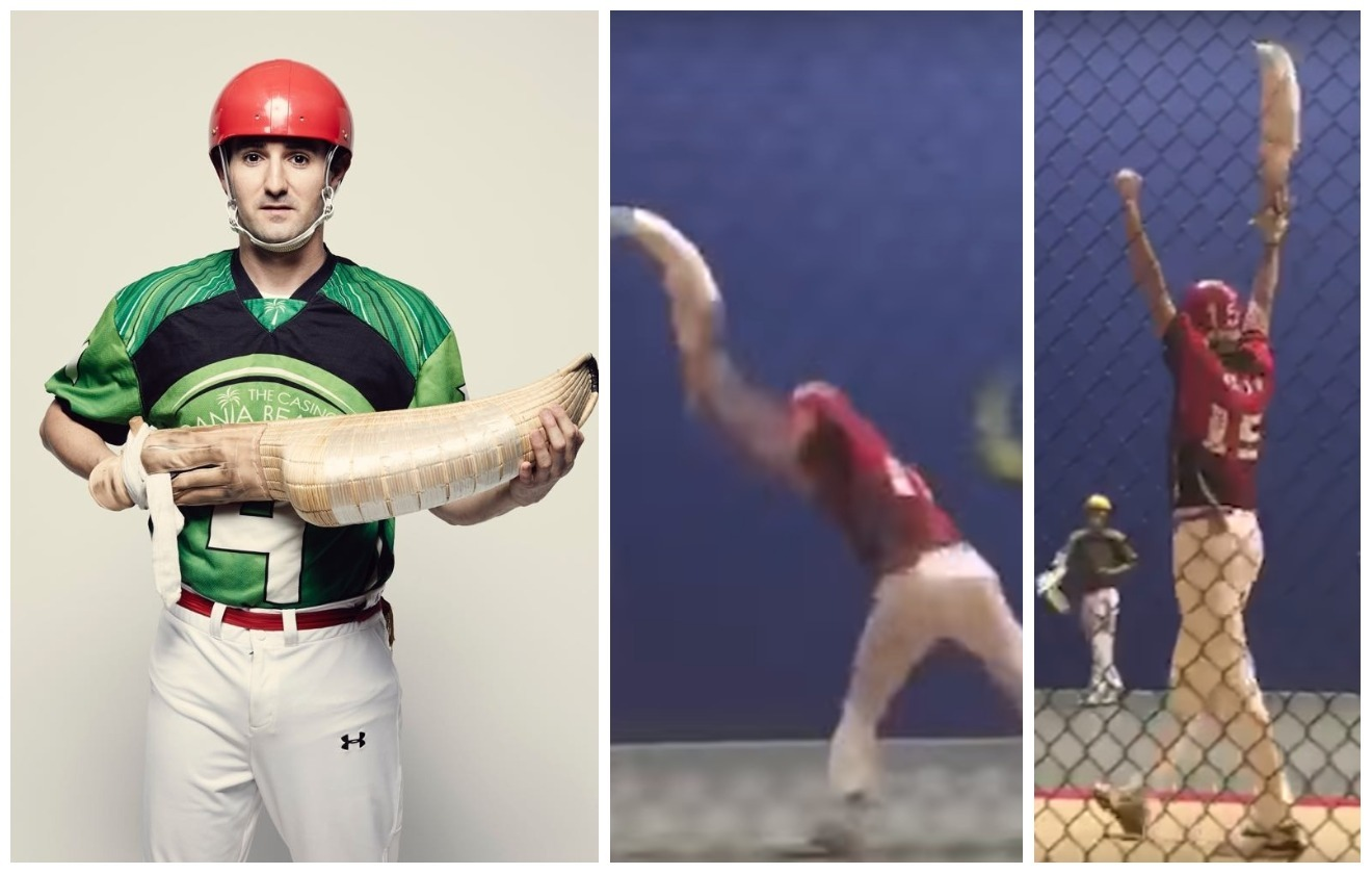 Fastest Jai-Alai (Pelota) throw