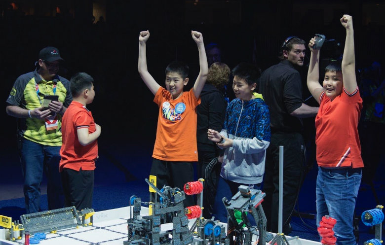 Largest robot championships
