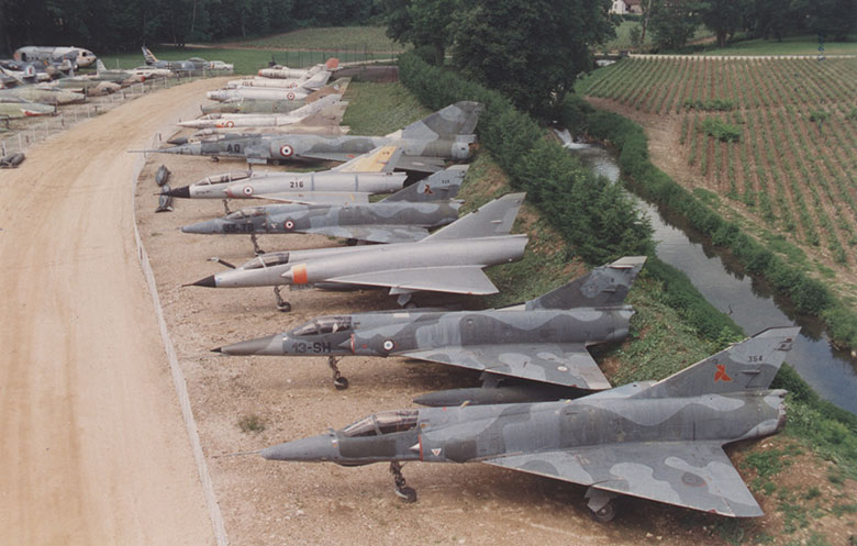 Largest collection of jet-fighters