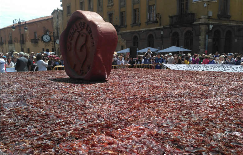 Largest serving of Cecina