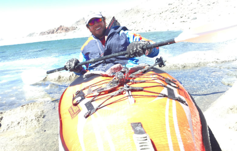 Highest altitude kayaking