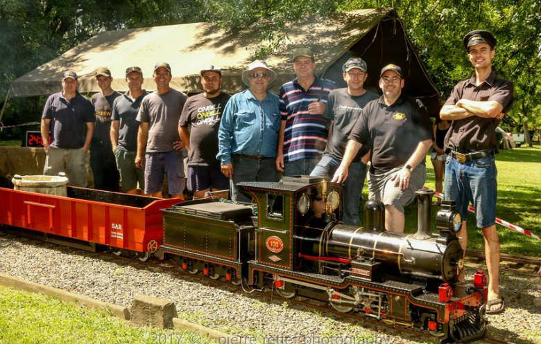 Greatest distance traveled by a train on a miniature railway in 24 hours