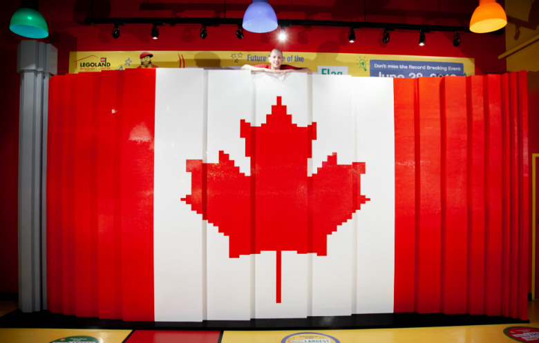 Largest LEGO® brick flag