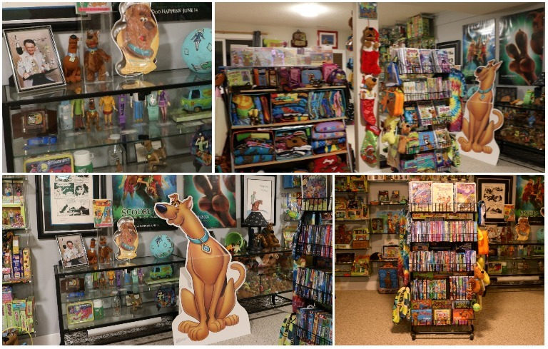 Largest collection of Scooby Doo memorabilia