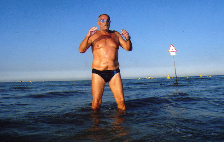 Longest distance ocean swim (marathon swimming)