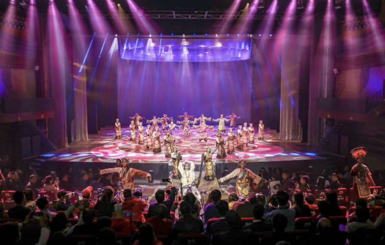 Highest altitude musical theatre show (indoor)