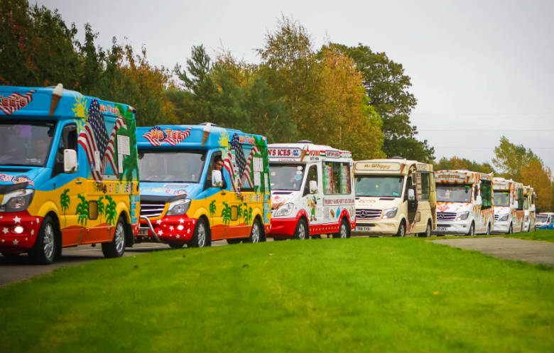 Largest parade of ice cream vans/trucks