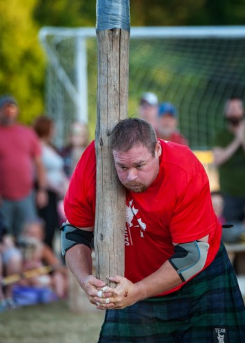 Most caber tosses in three minutes