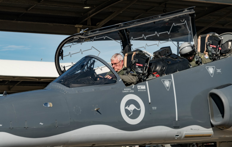 Oldest active fighter pilot