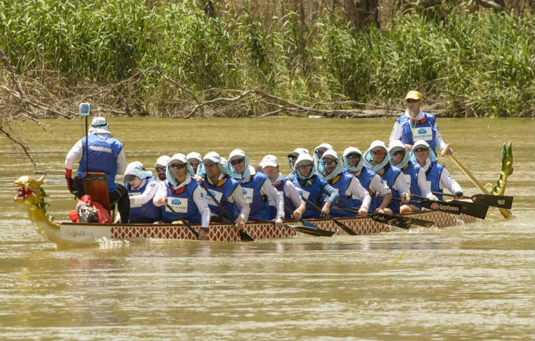 Longest journey by dragon boat
