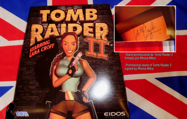 Largest collection of Tomb Raider memorabilia