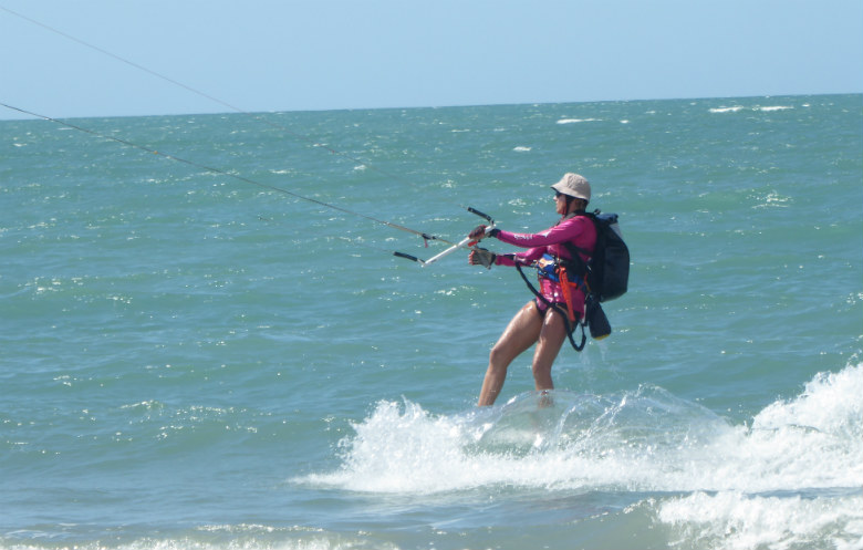 Longest journey kite surfing (female)