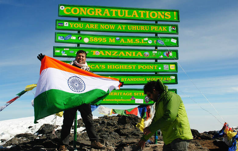 Youngest person to climb the Seven Summits and the Seven Volcanic Summits