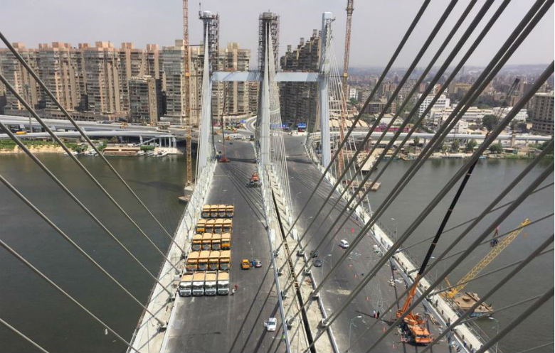 Widest cable-stayed bridge