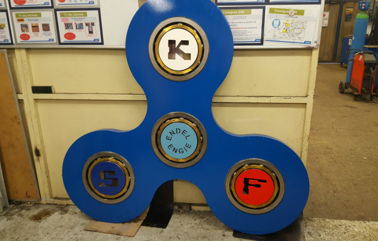 Largest fidget spinner
