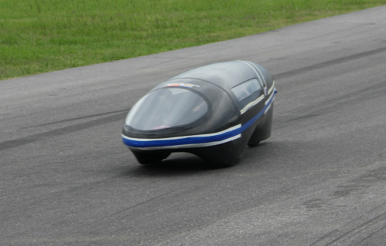 Most efficient prototype electric vehicle