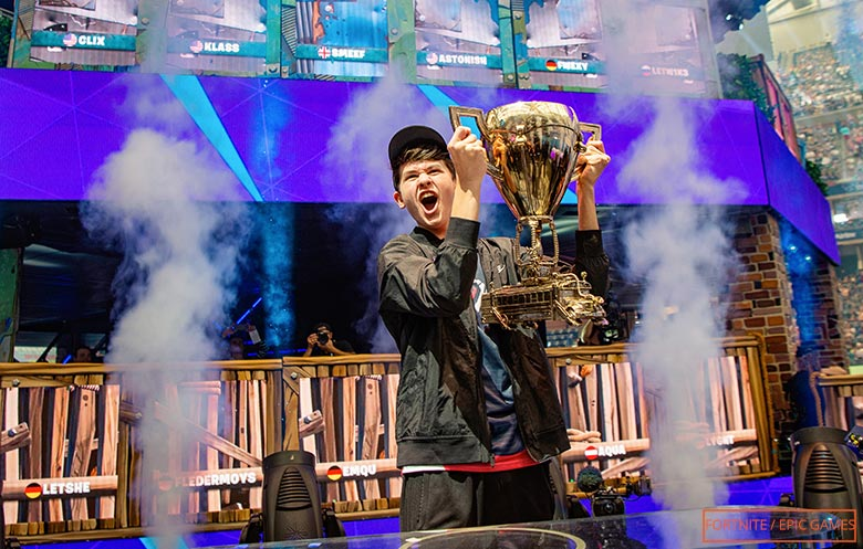 First Solo player to become Fortnite World Champion