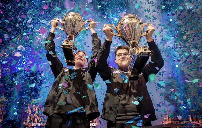 First Duo players to become Fortnite World Champions