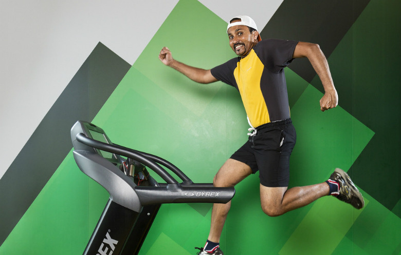 Fastest 100 miles on a treadmill (male)