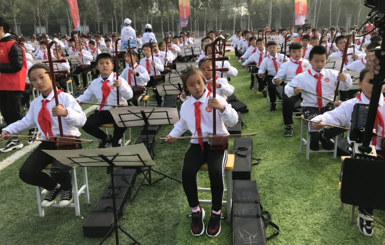 Largest erhu ensemble