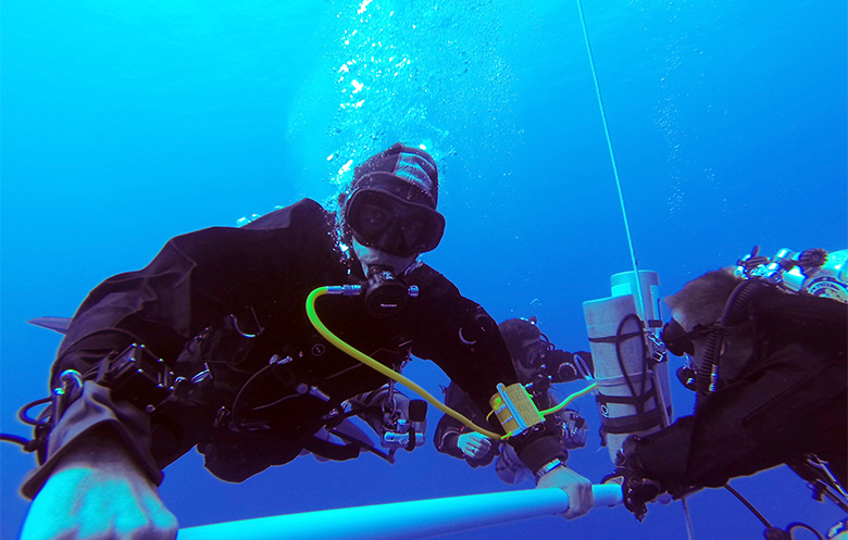 Deepest scuba dive (male)