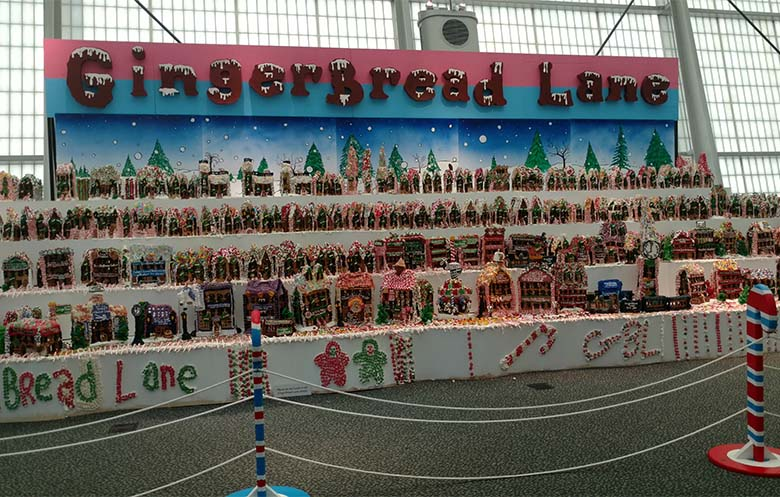 Largest gingerbread village