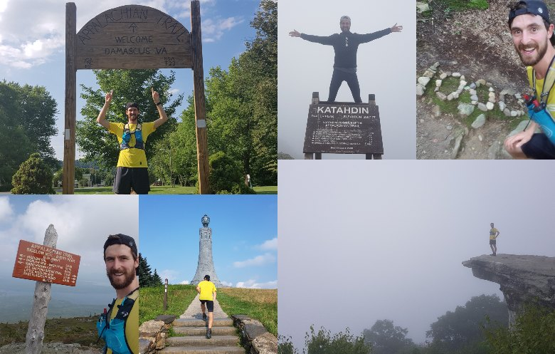 Fastest time to complete the Appalachian Trail