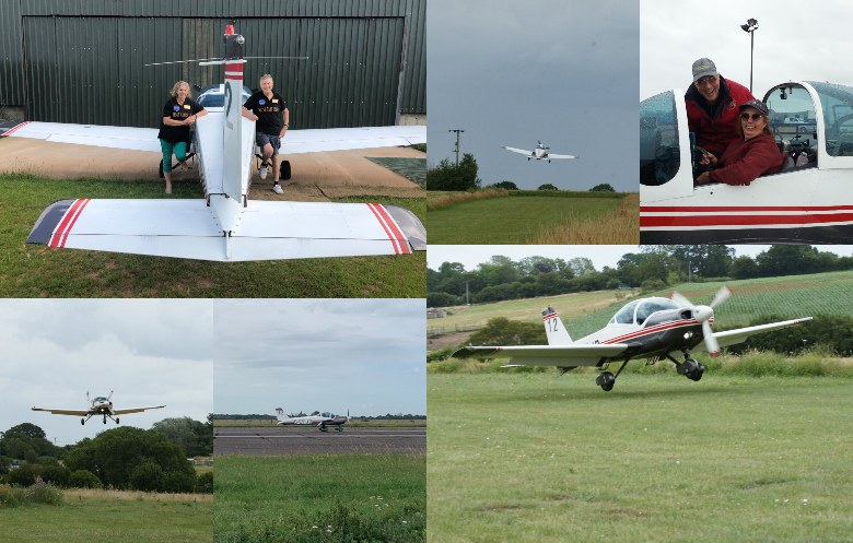 Most airfields visited in 12 hours by fixed-wing aircraft
