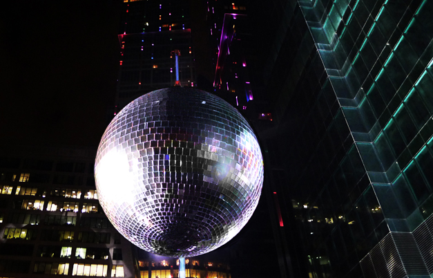 Largest disco ball