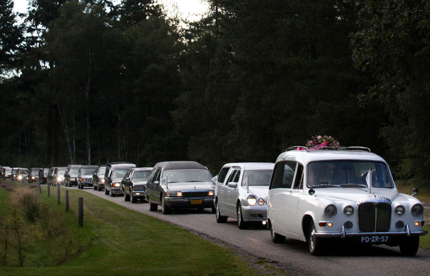 Longest parade of hearses