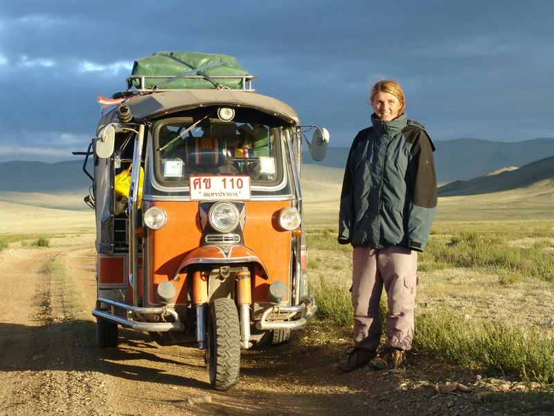Longest journey by tuk-tuk / autorickshaw