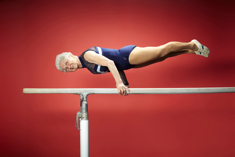 Oldest gymnast