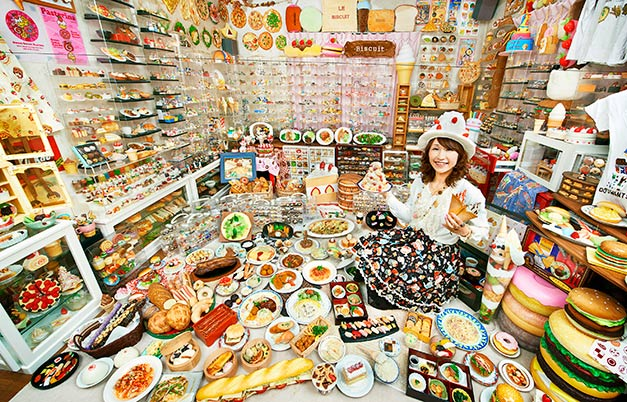 Largest collection of prepared food-related items