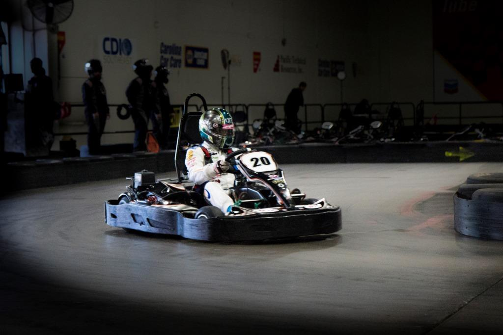 Greatest distance travelled by go-kart in 24 hours indoors (individual)