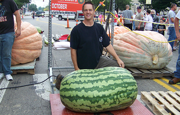 Heaviest watermelon