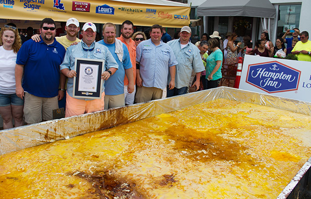 Largest fruit cobbler