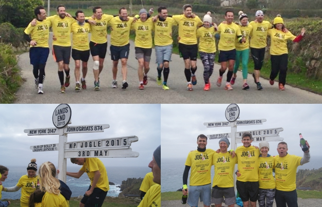 Fastest journey from Land's End to John-O'-Groats on foot by a mixed team