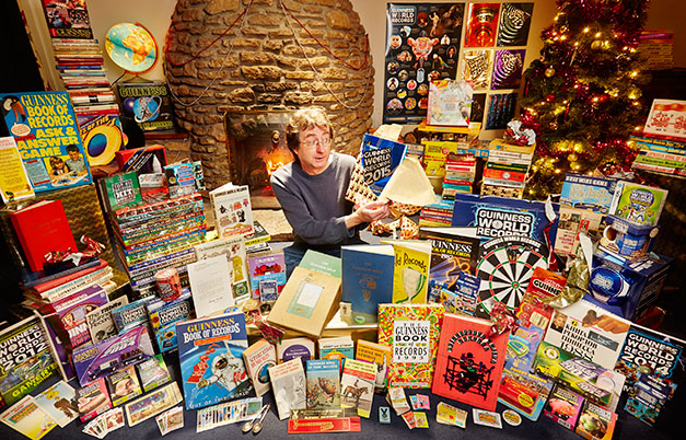 Largest collection of Guinness World Records memorabilia