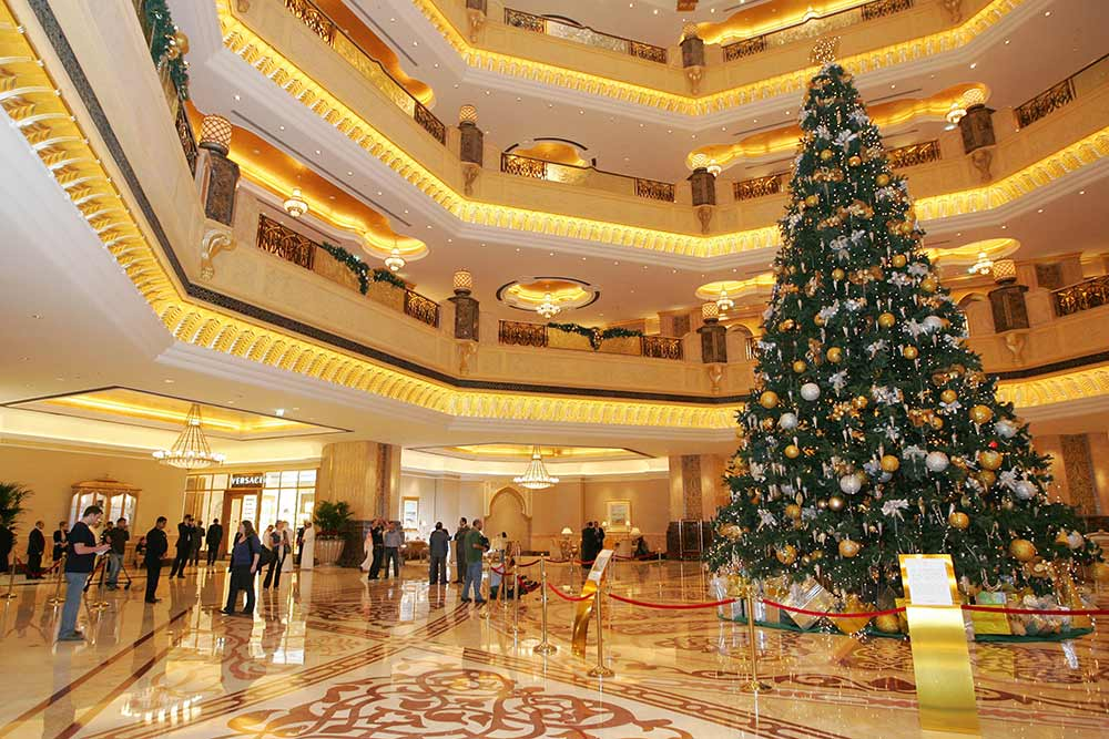 Most expensive Christmas tree decorated