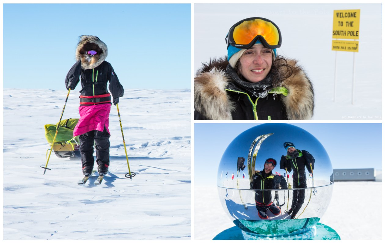 Longest assisted journey across Antarctica on skis (female)